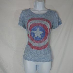 Marvel Captain America Stretchy Tee